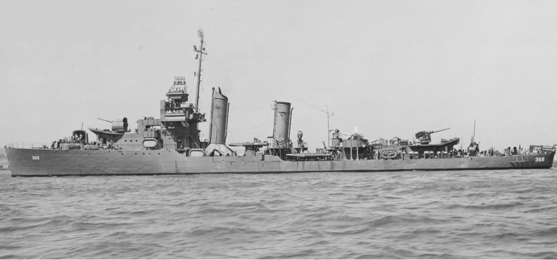 Reid off Mare Island on 11 July 1943. (U.S. Navy Bureau of Ships Photograph 19-N-48259, National Archives and Records Administration, Still Pictures Division, College Park, Md.)