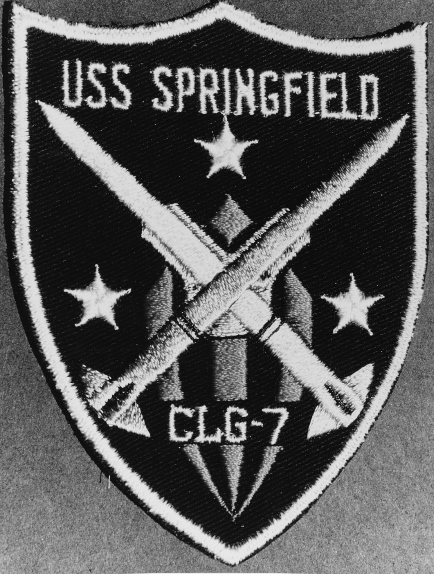 USS Springfield (CLG-7) insignia