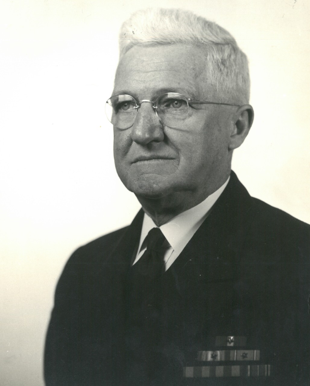 This portrait of Stark later in life keenly shows his care worn countenance and reflective gaze, January 1951. (Public Affairs Office, NAS Anacostia, D.C., U.S. Navy Photograph 1-51, Biography Collection, Naval History and Heritage Command)