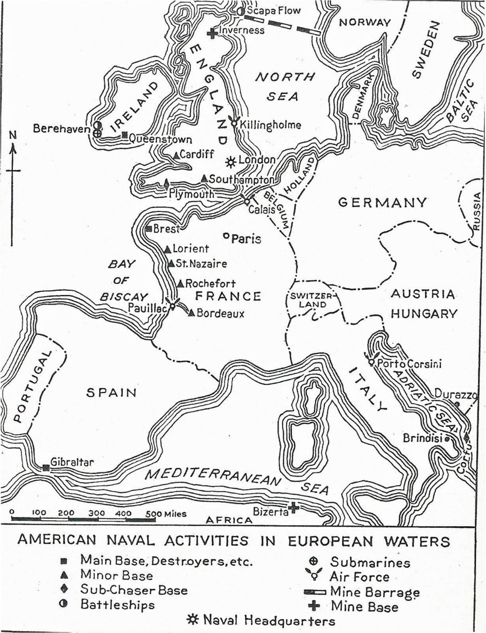 "Map from American Battle Monuments Commission, ""A Guide to American Battlefields in Europe"" (Washington, DC: GPO, 1927)."
