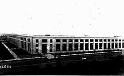 Main Navy Building, 17th and B Street NW, circa 1924.