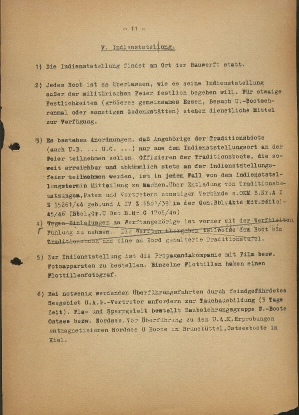 Guide for U-Boat Officers Concerning New U-Boat Orders for the Frontline - page 11