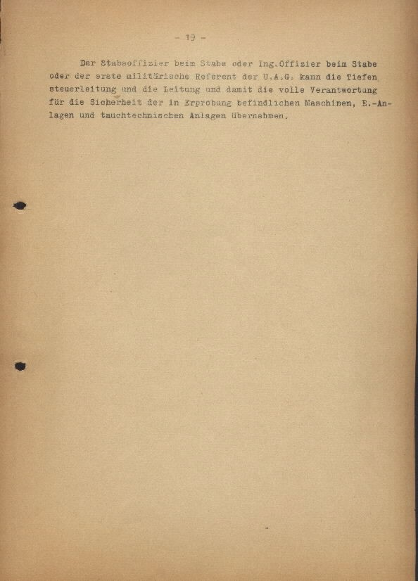 Guide for U-Boat Officers Concerning New U-Boat Orders for the Frontline - page 19