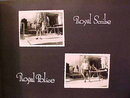 (Left) Royal Scribe, (Right) Royal Police