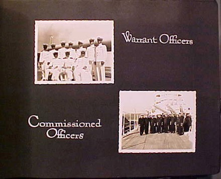 (Left) Warrant Officers, (Right) Commissioned Officers