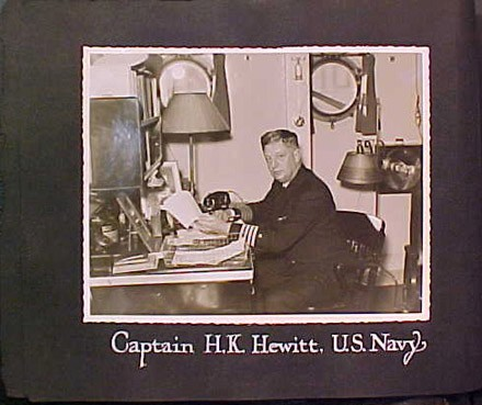 Captain H.K. Hewitt. U.S. Navy