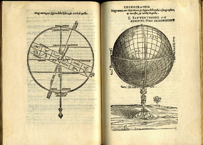 Image from Introdutiore di cosmographia, et de chapter;