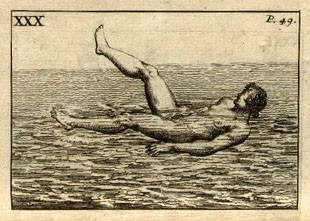 Image from page 49 - To swim holding up one leg, Chapter 30.