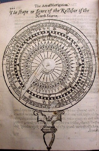 The first of two images of page 720, showing the movable needle of the compass in different positions.