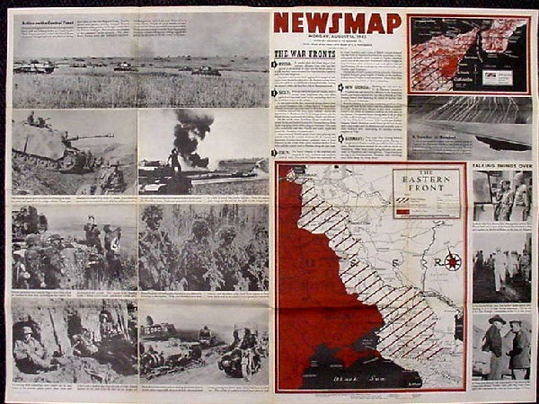 "Image of Newsmap - ""Jap Aircraft,"" side 1."