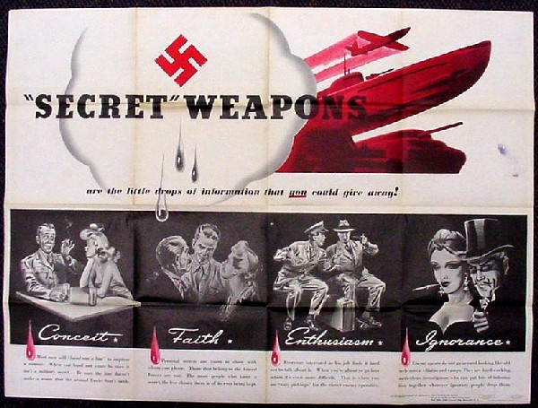 "Image of Newsmap - ""Secret Weapons,"" side 2."