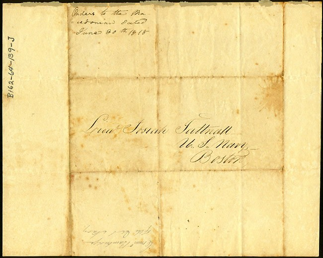 Image of DS dated 30 June 1818, page 2.