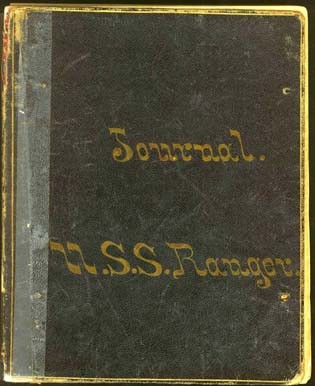 Image of Cover - USS Ranger journal