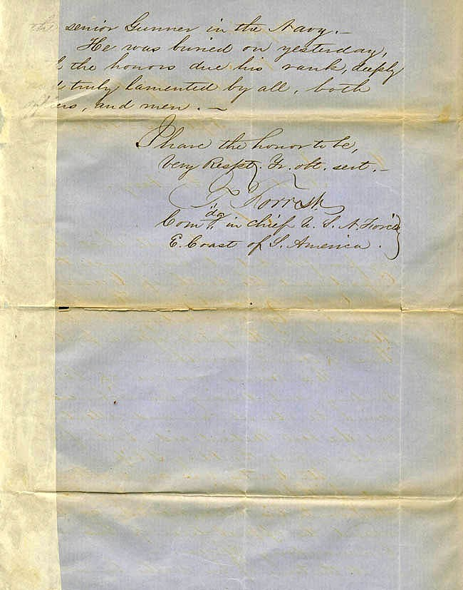 Letter dated 13 September 1858 [Page 2]