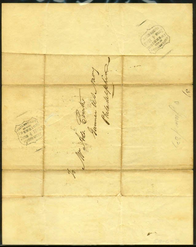 Image of Letter of reference, dated 3 June 1833 [Page 2]