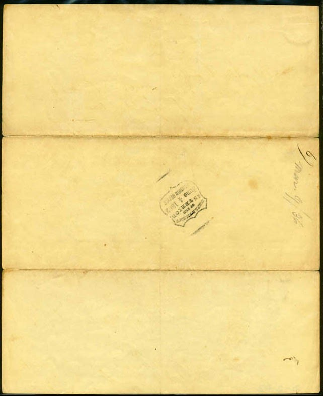 Image of Letter of reference, dated 9 March 1836 [Page 2]