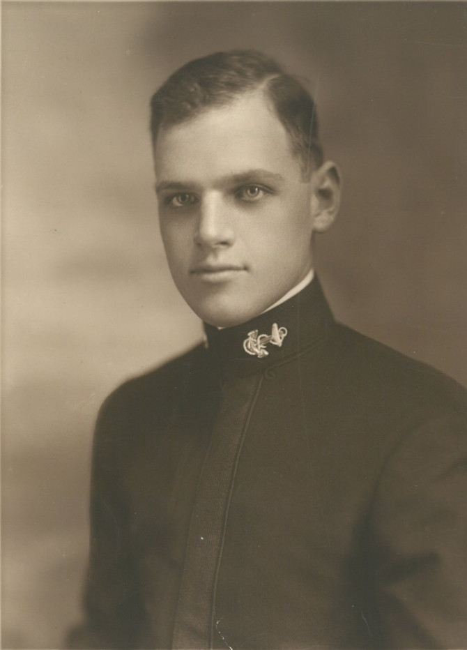 Edward P. Street portrait in uniform