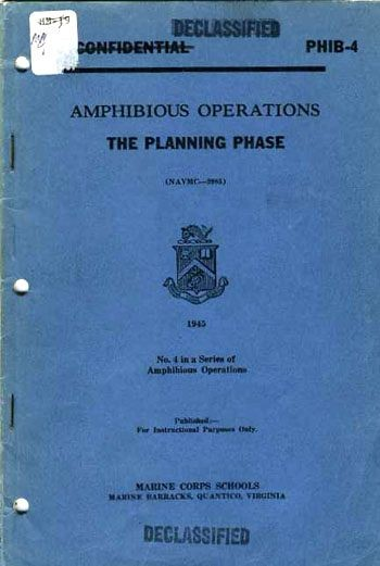 Image of cover: Amphibious Operations - The Planning Phase