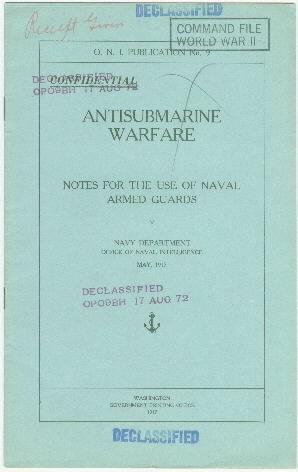 Image of cover to 'Antisubmarine Warfare'
