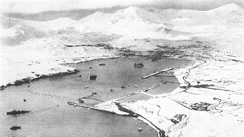 Sweepers Cove, Adak, 18 months after the landing