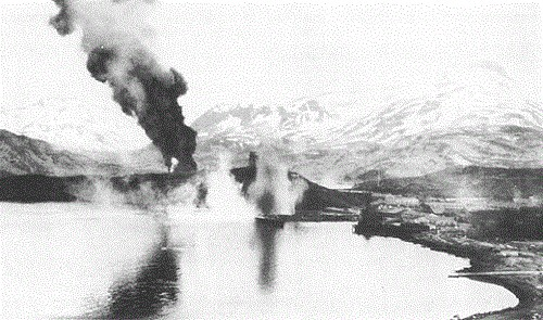 Japanese bombing of Dutch Harbor, 4 June 1942