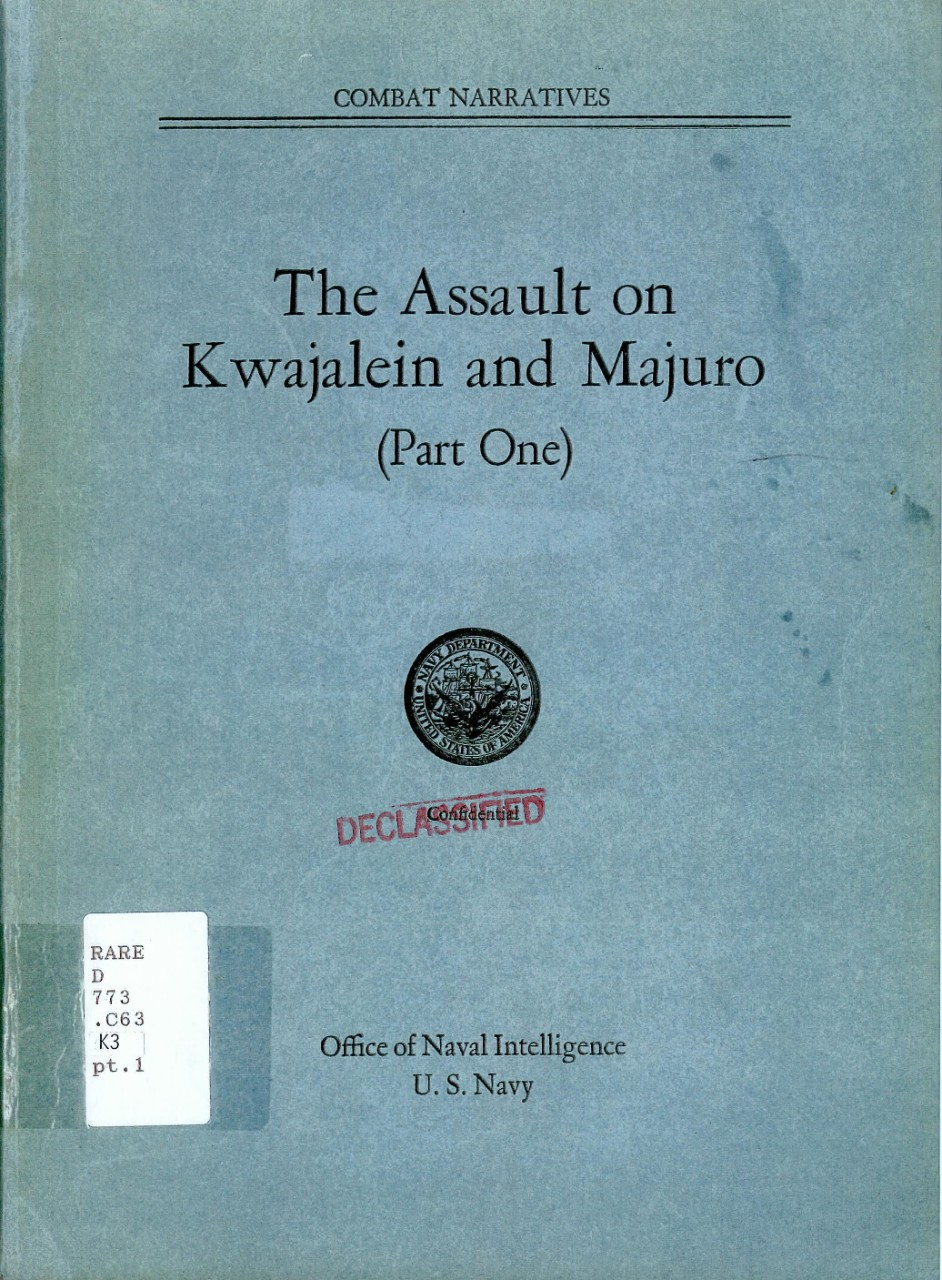 Cover - The Assault on Kwajalein and Majuro (Part One)