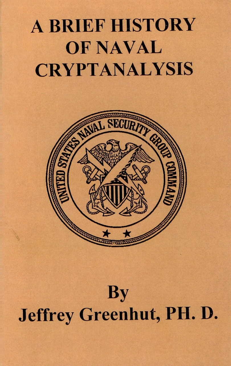 Cover page - A Brief History of Naval Cryptanalysis