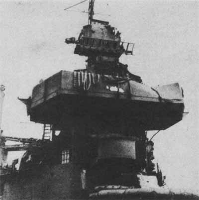 Damage to Battle II and Sky Aft of San Francisco as a result of actions of 12 and 13 November.