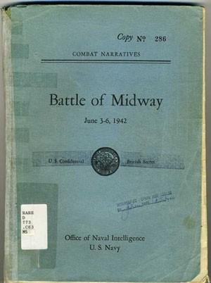 Cover image - Battle of Midway June 3-6, 1942