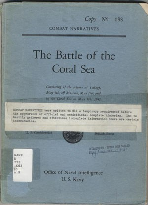 Cover image - The Battle of the Coral Sea