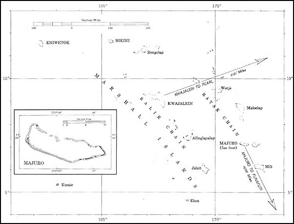 Image of Map: Marshall Islands.