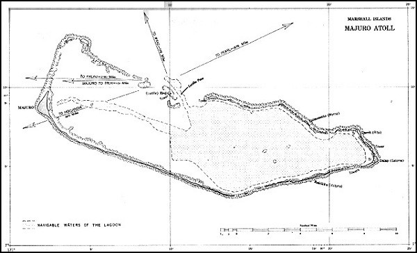 Image of Map: Majuro Atoll.