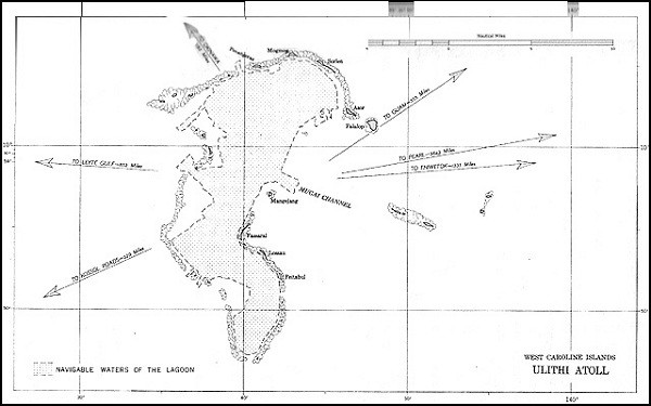 Image of Map: Ulithi Atoll.