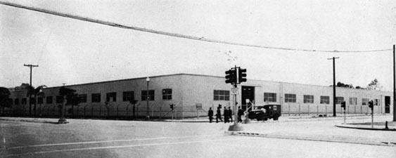 Temporary Storehouse for Naval Supply Depot, Erected at Ash Street and Pacific Highway, San Diego.