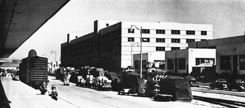 General Storehouse and Administration Building (Right), NSD Oakland.