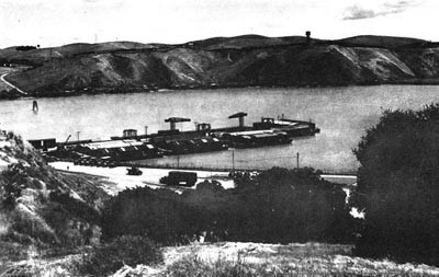 Loading Pier for Ammunition, Mare Island Ammunition Depot