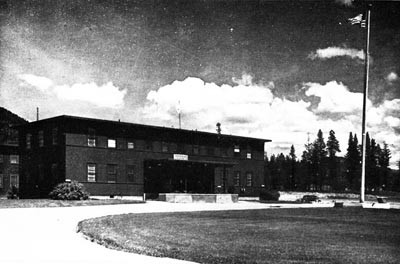 Hospital Administration Building, Farragut, Idaho