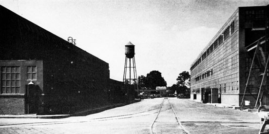 Machine (right) and Shipfitter's Shops, St. Helena Area of the Norfolk Navy Yard.