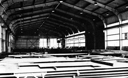 Layout Shop (Interior) at the Charleston Navy Yard.