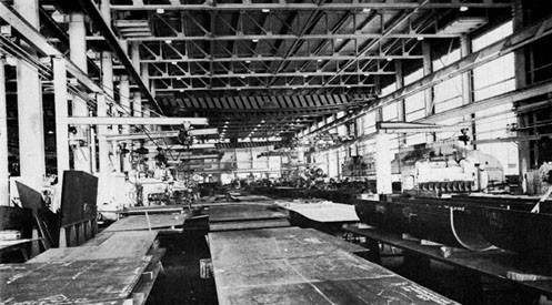Interior of Shipfitter's Shop, Puget Sound Navy Yard.