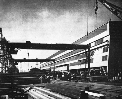 Yard Steel Shop, Terminal Island.