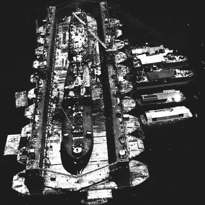 Ten-Section ABSD (Advance Base Sectional Dock) in Service.