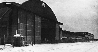 Hangar and Shops at the Norfolk Naval Air Station.