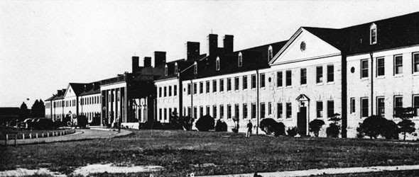 Bachelor Officers' Quarters, Norfolk Naval Air Station.