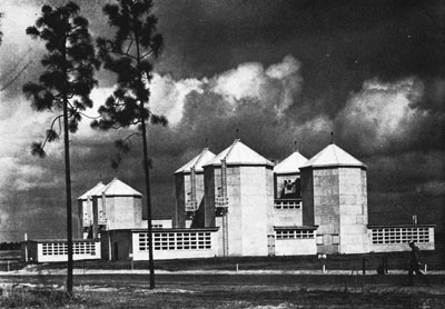 Celestial Navigation Training Building, Whiting Field, Pensacola.