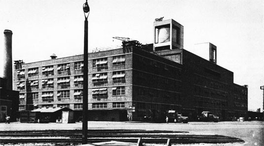 Production Utility Building, New York Navy Yard.