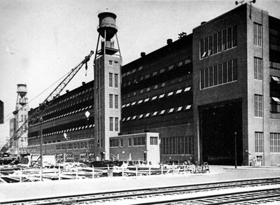 Sub-assembly Shop, New York Navy Yard.