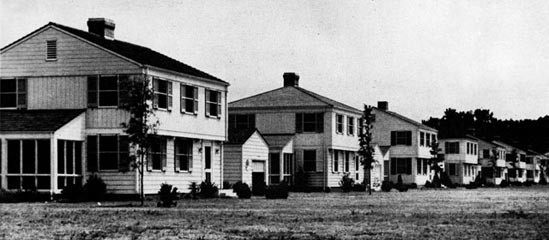 Married Officers' Quarters, Camp Lejeune.
