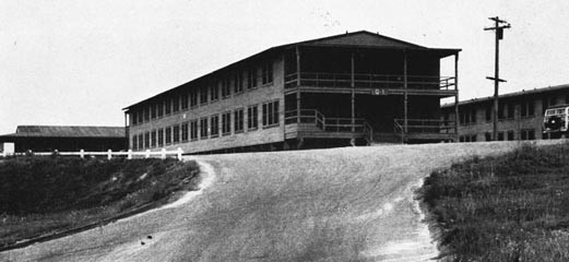 Temporary Barracks at Camp Pendleton, Calif.