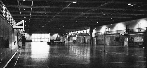 Interior View of a Farragut Drill Hall.